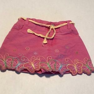 3/$10 24 mo 2T pink butterfly skirt
